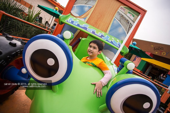 "Noppy in ""Toy Story Land"""