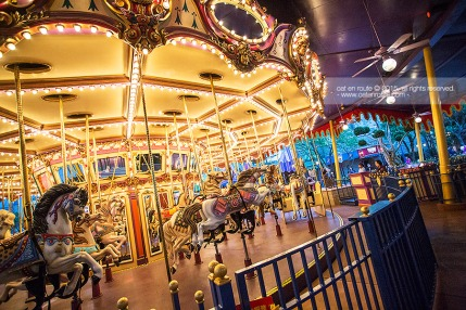 "Twilight Time at ""Cinderella Carousel"""