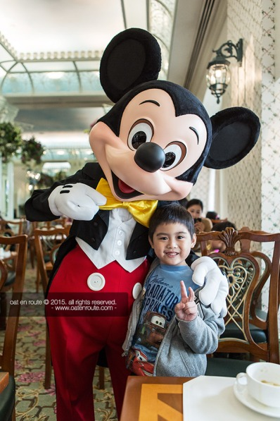 "Breakfast with Disney Characters at ""Enchanted Garden Restaurant"""