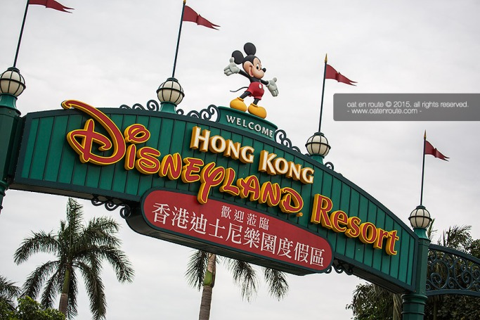"""Welcome to HK Disneyland"""